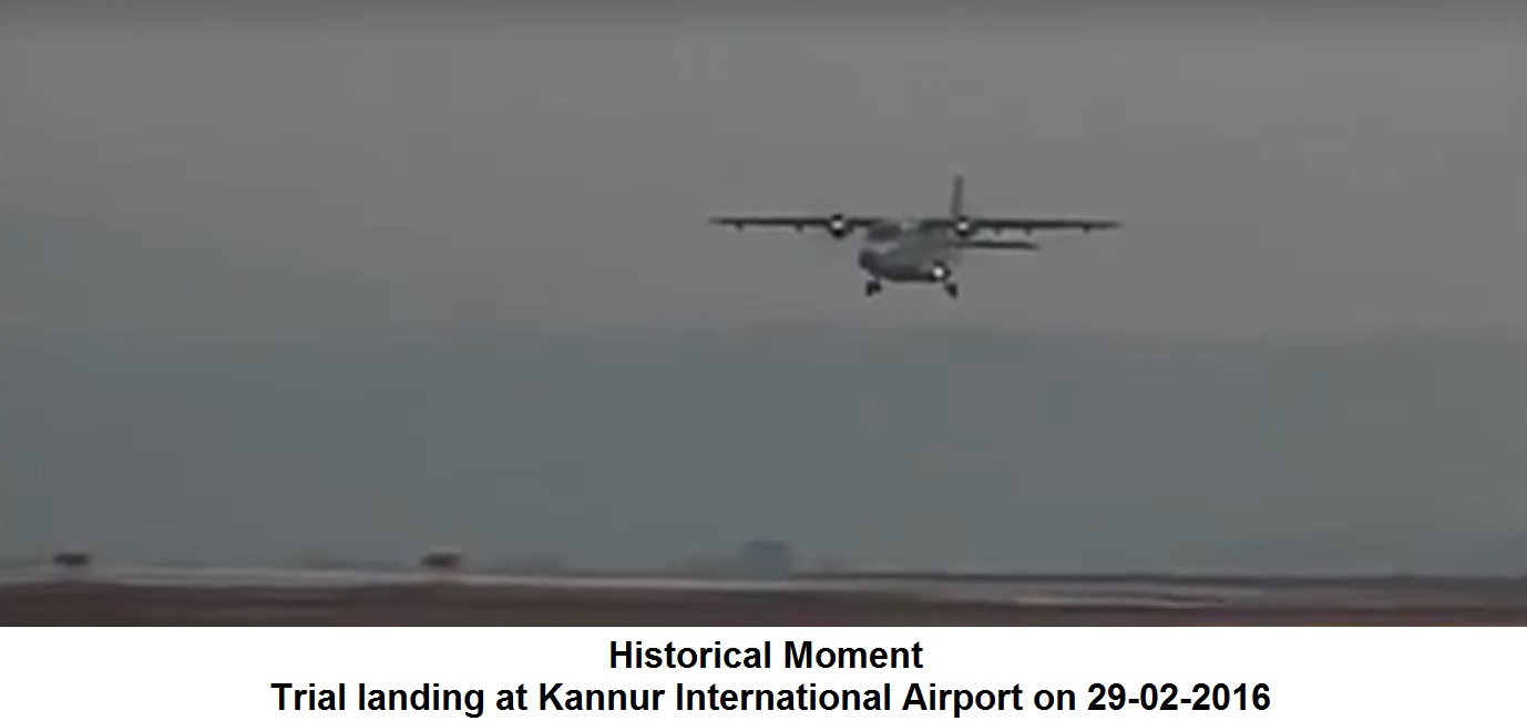 Historical Moment of Trial Landing