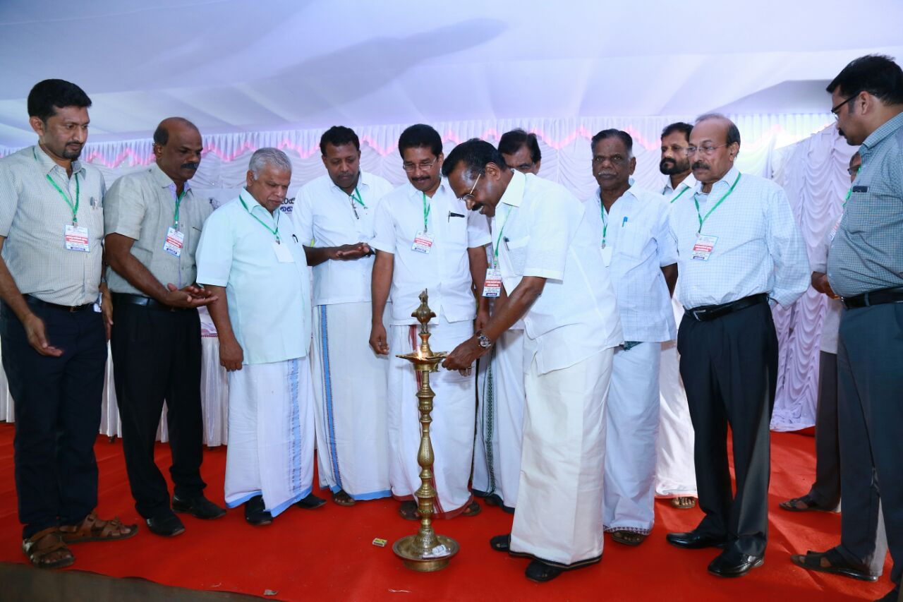 Inauguration of Free Medical Camp and Awareness to Migrant Labours at Kannur Airport Site By Minister Shri. T P Ramakrishnan