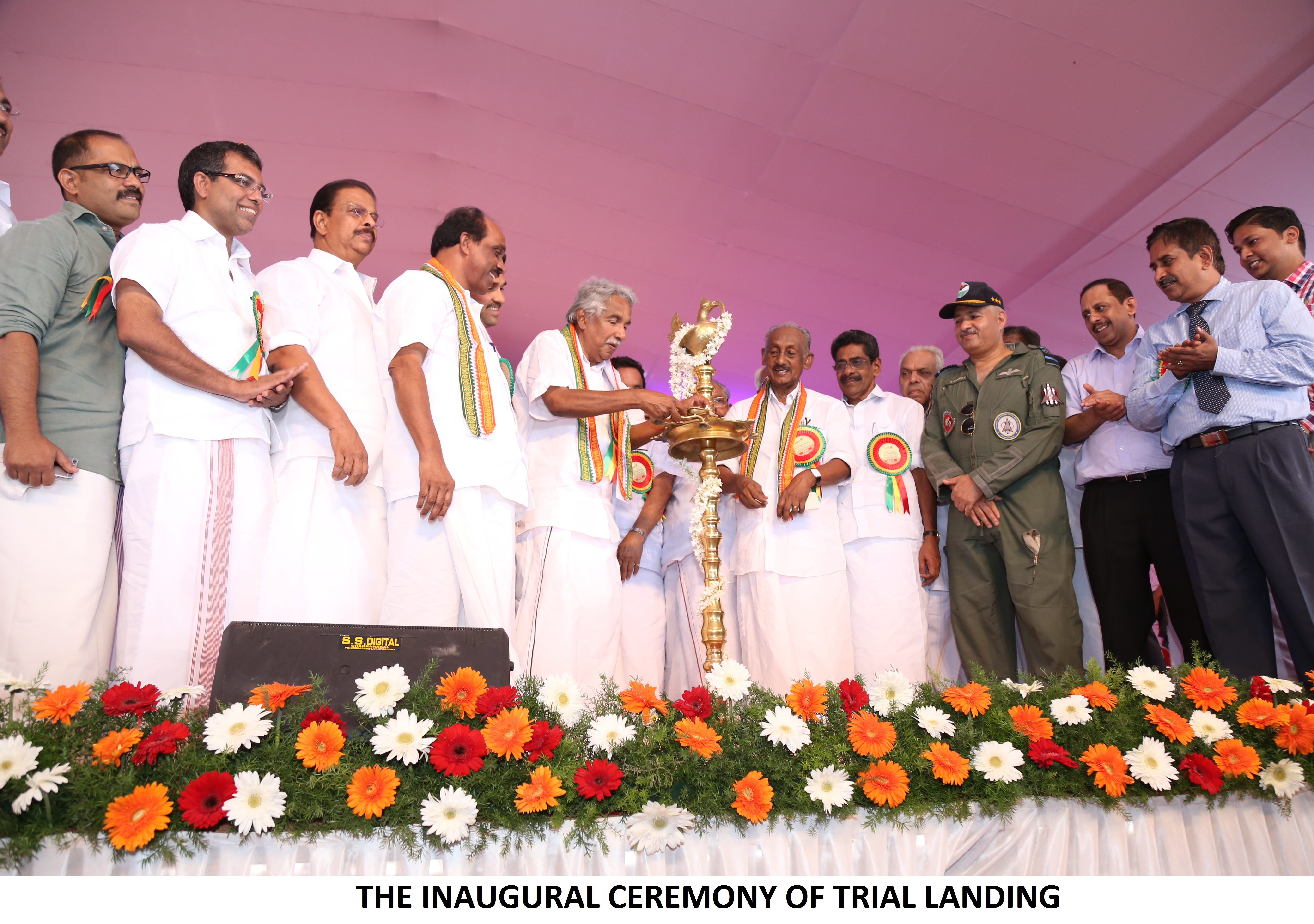 The Inaugural Ceremony Of Trial Landing