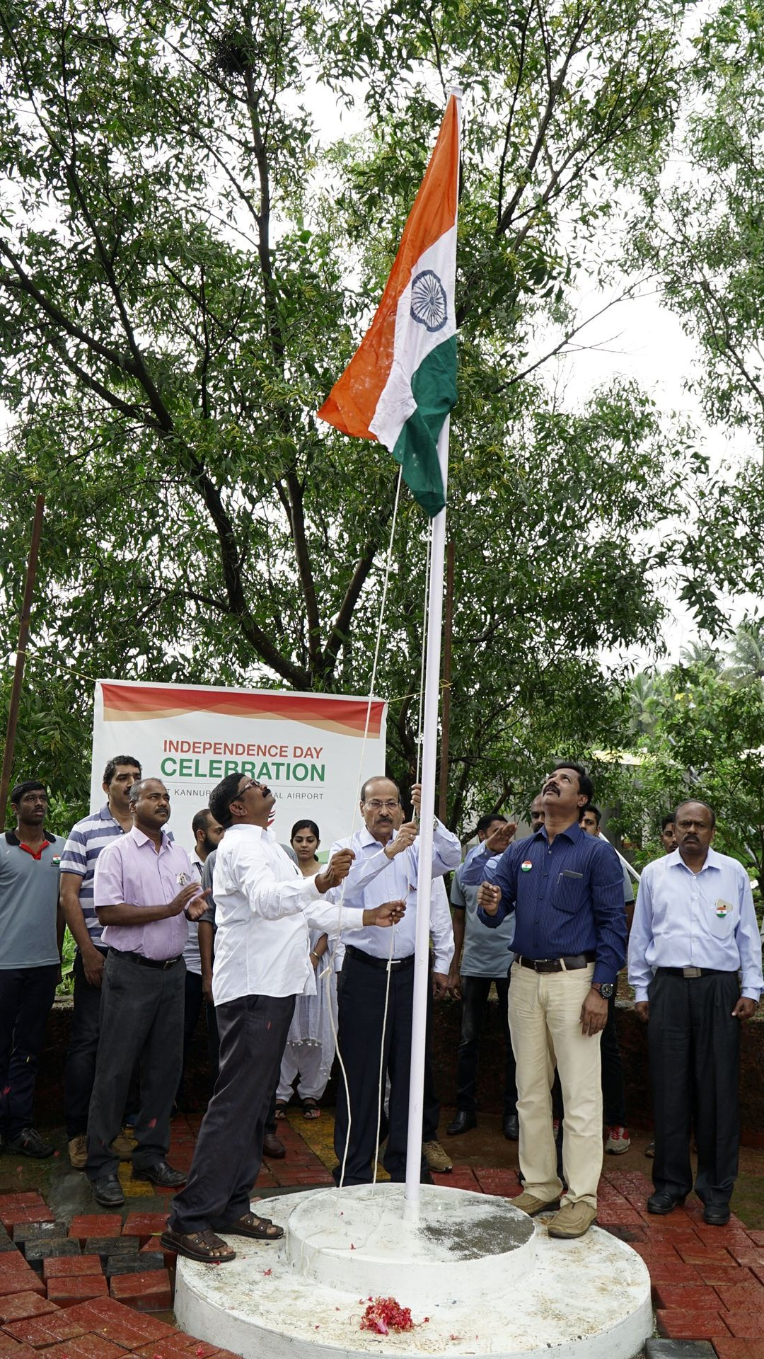 Kannur Airport Year 2018 Independence Day Celebration