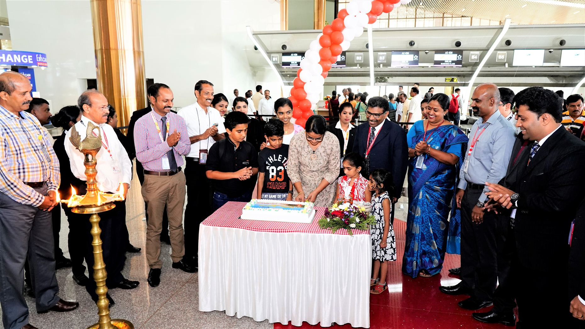 Air India Kannur-Delhi Service Inauguration