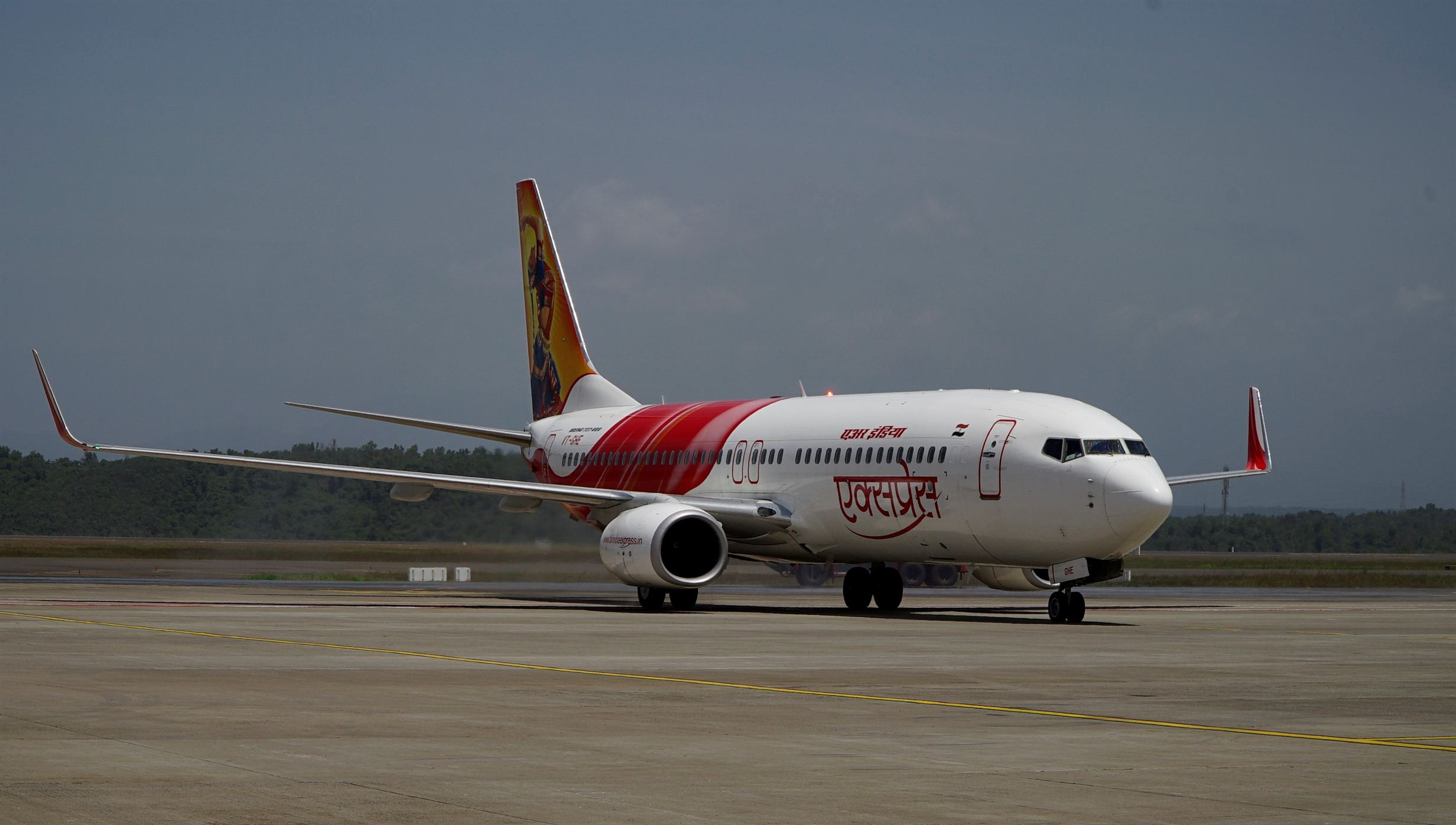 Air India Express Flight Trail
