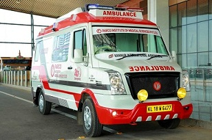 Kannur International Airport Medical Aid Ambulance